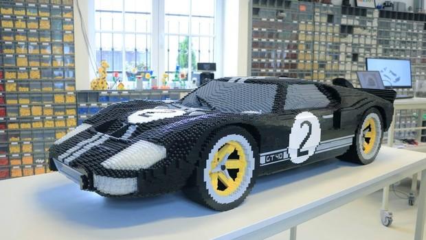 legodan araba yapımı