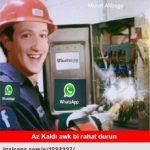 WhatsApp Kapandı, Capsler Patladı