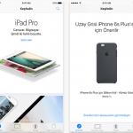App Store'da parmak izi devri