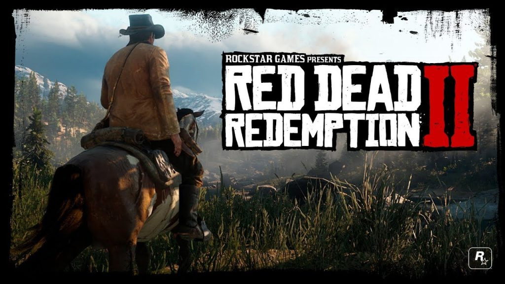red dead redemption 2 2018 oyunu
