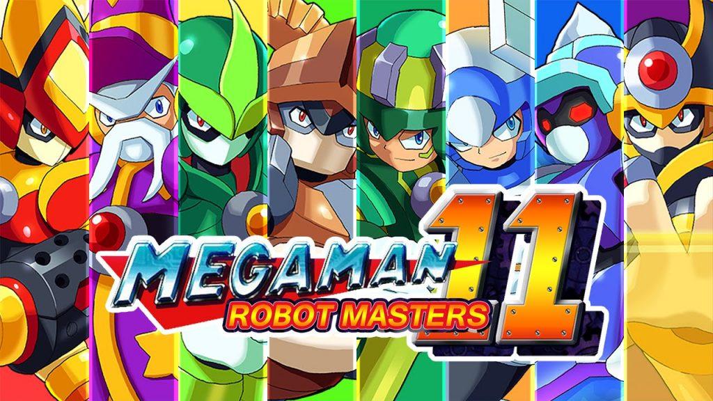 megaman 11 2018 oyunu