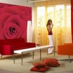 hedza kırmızı dekorasyon 41 150x150 Kız Bebeği Odaları Dekorasyonu